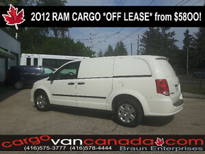 2O13 Dodge RAM RAM C/V CARGO VAN fr $58OO *HARD PANEL NO GLASS*