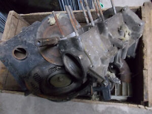 Yamaha 338 motor in a wooden box - pull start complete - Peterborough Peterborough Area image 1