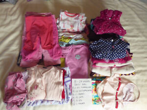 18-24 months Girls' lot In Great Used Condition!