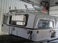 """Used 6'6 short Box Fiberglass Slide-In """"Space Kap"""" Tool Shed Calgary Alberta Preview"""