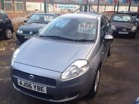 FIAT GRAND PUNTO 1.2 ACTIVE GREAT LOOKING 5 DOOR HACHBACK LOW MILES £1595!!!