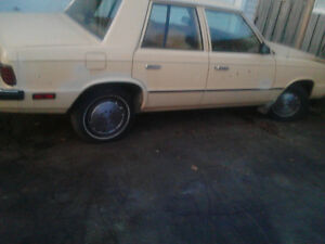 1985 Plymouth reliant 4 cylinder 4