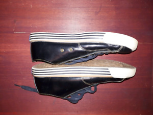 Sneakers Keds black leather