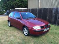Seat Ibiza 1.4 2001MY S RED 3 DOOR HATCHBACK PETROL