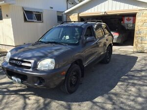 Safety 2005 Hyundai Santa Fe GL Only 121KMs