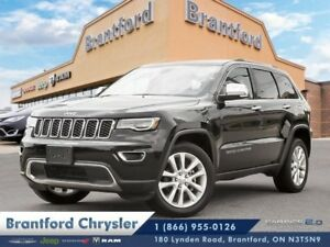 2017 Jeep Grand Cherokee Limited  leather- pano sunroof-navigati