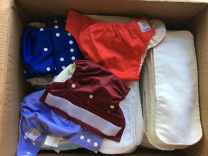 Cloth Diapers, Bamboo, Resuable
