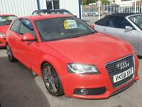 58 Audi A3 2.0 TDI 170 S Line * Lowered * Remapped * £££ Spent * Very Quick Car