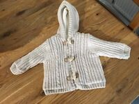 Mothercare aged 0-3 months boys coat