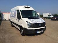 2015 15 VOLKSWAGEN CRAFTER 2.0TDi 110BHP CR35 FRIDGE / FREEZER VANS LOW MILEAGE