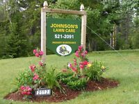Johnson's Lawn Care is Accepting New Clients this Season