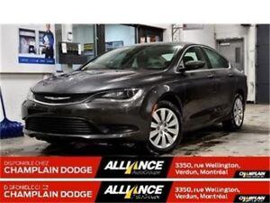 2016 Chrysler 200 LX, BAS MILLAGE, COMME NEUF, WOW!!!