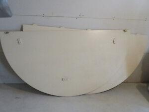 Panneaux pour agrandir table ronde