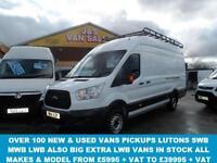 2014 14 FORD TRANSIT CUSTOM 2.2 350 JUMBO DRW 1D 125 BHP EXTRA LWB LOW MLS 16000