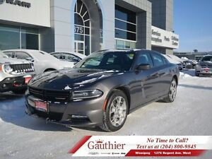 2016 Dodge Charger SXT AWD w/Leather *LOCAL*  - Low Mileage