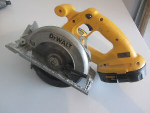 Dewalt Circular Hand Saw 18 Volt Battery