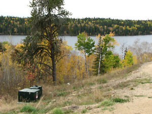 Lake lot for sale on Shores of Cowan near Big River