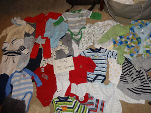 Boys 3-6 Months Clothes - Good Condition!