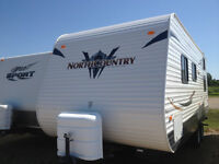 North Country Travel Trailer 23 TBH