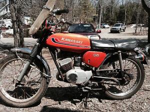 1973 gs 90 two stroke