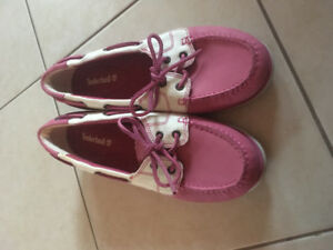 TIMBERLAND FEMME BOAT SHOES - SPORT SIZE 9.5