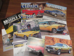 24 Car Calendars and Magazines