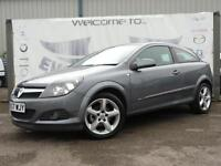 2007 VAUXHALL ASTRA 1.8 SRI 16V E4 3 DOOR SPORT HATCH 7 SERVICE STAMPS 17 INCH A
