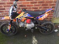 Road legal pitbike reg as 120