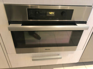 """Miele speed oven 24"""" (H4044BM)"""