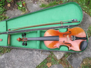 Vintage Violin 3/4 includes case and bow