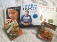 5 Recipe cookery books