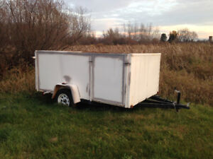 2012 utility trailer with electric brakes