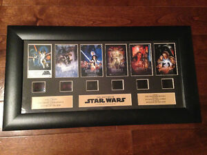 STAR WARS History Film Ep 1-6 Original Film Cell
