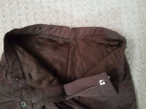 Women's lined brown winter pants Size Small New with tags London Ontario image 9