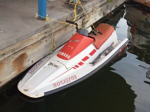 1986 Yamaha Waverunner + Trailer