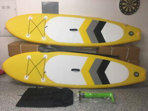 paddle board 10,6 gonflable ensemble complet neuf