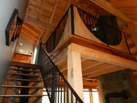 Ocean View Passive Solar Custom One of a Kind Timber Frame Home