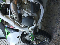 Kx 250 2011 injection