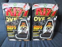 KISS LOVE GUN SEAT COVERS BELL BUCKET CAR