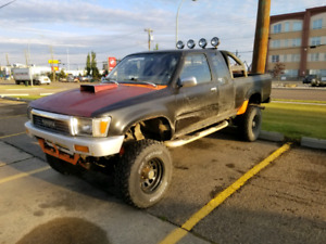 Toyota pickup 4x4 manual 1jz twin Turbo