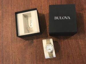 Beautiful women's gold watch
