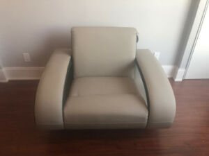 Brand New Genuine Leather Sofa Armchair for Sale - couch futon