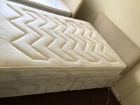 Excellent condition double bed with drawer & headboard