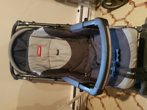 Peg Perego stroller and car seat (not including base)