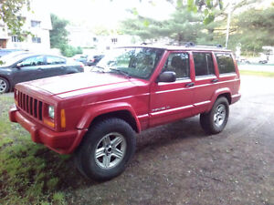 2001 Jeep Cherokee Limited trail pièce ou route