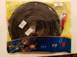 RCA 10M Video/Audio Cable