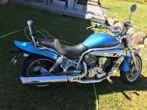 2006 HYOSU Motorcycle for sale $3000.00/trade 4 wheeler