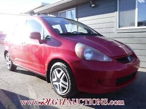 2007 HONDA FIT  4D HATCHBACK
