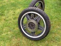 Honda comstar wheels