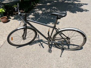 Marin 29er commuter bike with single speed/fixie flip flop hub